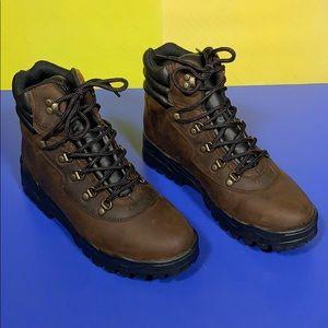 Nunn Bush Brown Shelby Waterproof Boots 10.5
